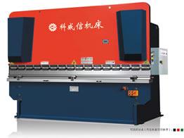 WC67Y系列扭力同步液压板料弯折机