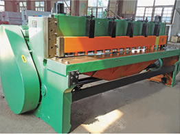 Q11系列 机械剪板机